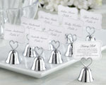 'Kissing Bell' Place Card/Photo Holder (Set of 24)