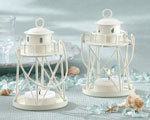 'By the Sea' Lighthouse Tea Light Holder