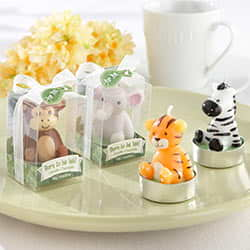 'Born to be Wild' Animal Candles (Set of 4, Assorted)