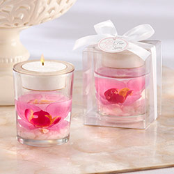'Elegant Orchid' Tealight Holder